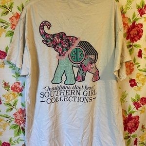 Traditions elephant graphic tee